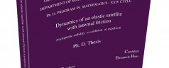 Dynamics of an elastic satellite with internal friction. Asymptotic stability vs collision or expulsion, Emanuele Haus