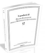 Quaderni di Prassi Ecdotiche della Modernità Letteraria